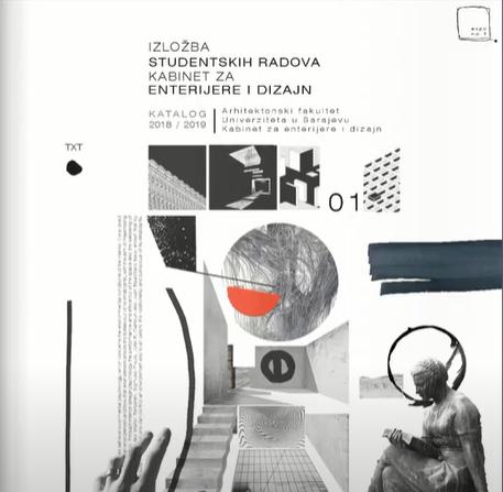 Katalog izložba studentskih radova 2020