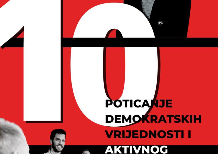POTICANJE DEMOKRATSKIH VRIJEDNOSTI I AKTIVNOG GRAĐANSTVA MEĐU MLADIMA(2)